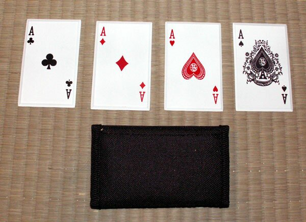 ``4 of a Kind`` - SS card throwers