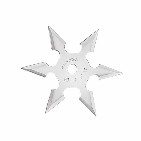 Gwiazdka Ninja Professional Throwing Star 6Pt SS 4`` w/pouch