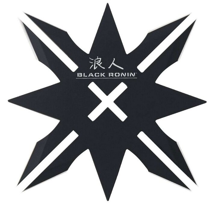 Gwiazdka United Cutlery Black Ronin 12-Point Throwing Star & Sheath
