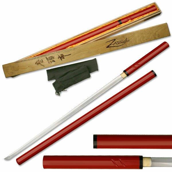 Miecz Zatoichi Hand Forged Sword Red