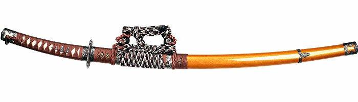 Miecz ozdobny Samurai Tachi Gold