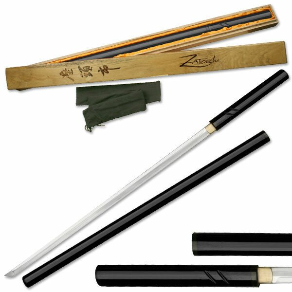 Miecz Zatoichi Hand Forged Sword Black