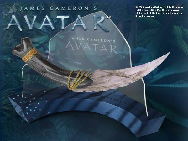 Navi Curved Dagger sztylet z filmu Avatar