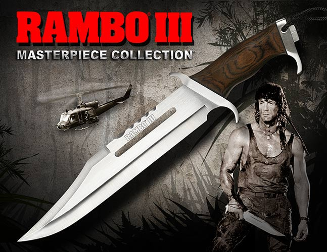 Nóż Rambo III Standard Edition Hollywood Collectibles Group
