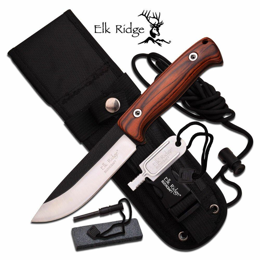 Nóż Survivalowy Elk Ridge Bushcraft
