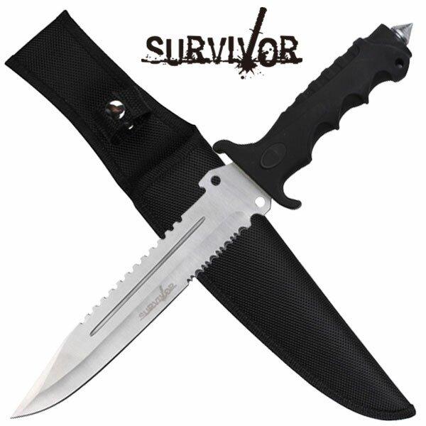Nóż Master Cutlery SURVIVOR Hunting Knife Serrated
