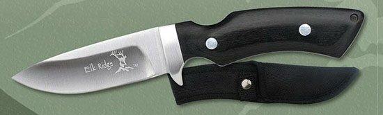 Nóż Myśliwski Elk Ridge Trekker Pakka Wood