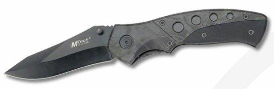 Nóż składany Master Cutlery G-10 Dark Camo