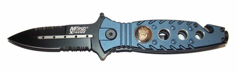 Nóż składany ratowniczy Master Cutlery Police
