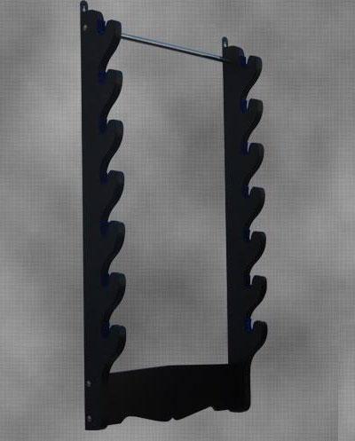 Wieszak na 7 mieczy: 7 Sword Wall Rack
