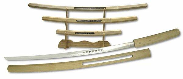 Zestaw mieczy Samurai Shirasaya Katana